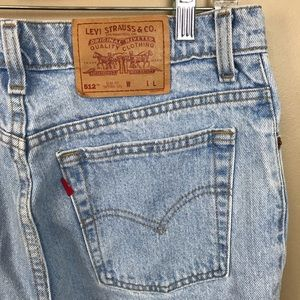 Vintage Levi's 512 tapered leg mom jeans13 Long